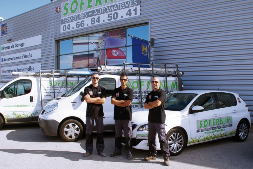 Equipe Technique, dépannages, maintenance SOFERNIM Caissargues